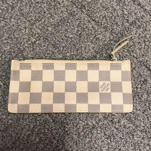 Authentic Louis Vuitton Wallet Insert/coin pouch.